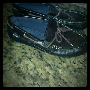 Nautica Boys Sheffled Youth  Shoes Brown